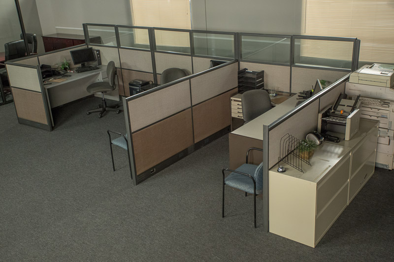 office cubicles standing set la