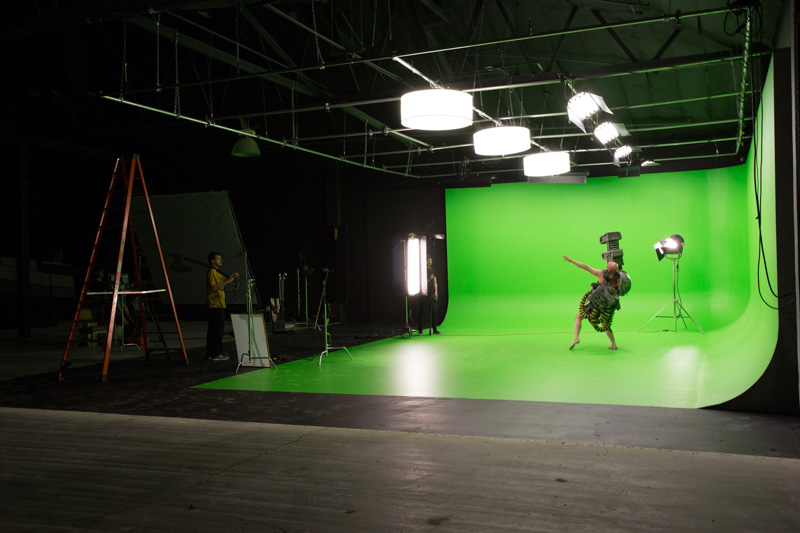 green screen la