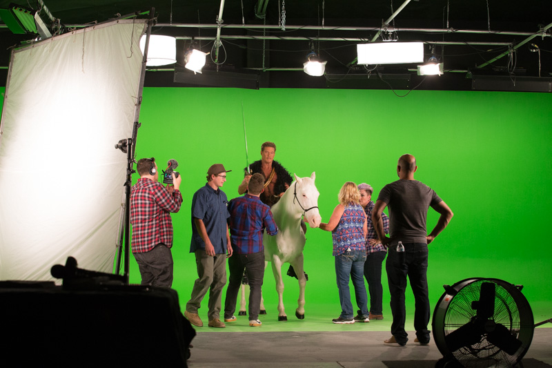large green screen in los angeles