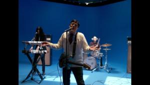 weezer music video green screen studio