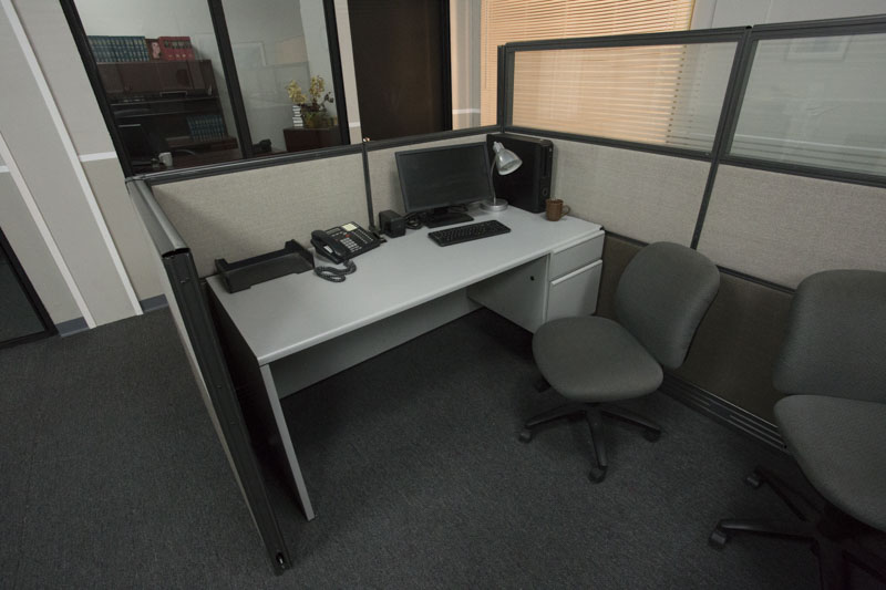 office standing set los angeles