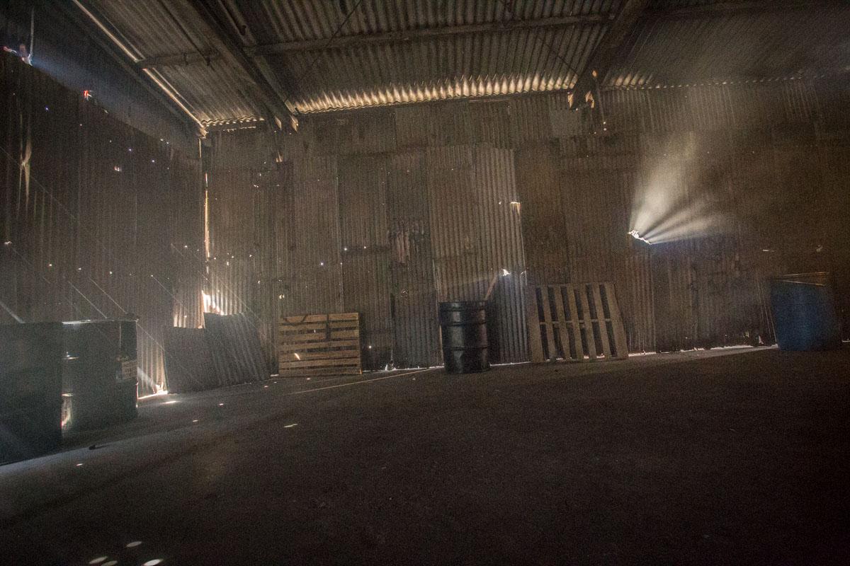 warehouse shoot location los angeles