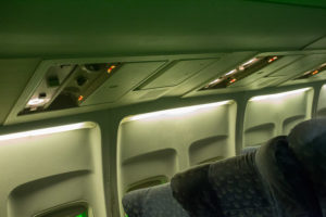 airplane standing set los angeles