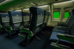 airplane film set