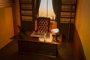 Judge's Chamber Standing Set